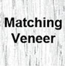 Matching Veneer