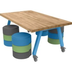 Shown With Smith Sytem Oodles Seating (Sold Separately)